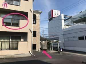 HondaCars鹿児島隼人中央店側2階
