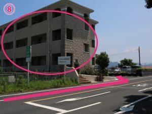 イオン隼人国分店西側駐車場に入ってすぐ左